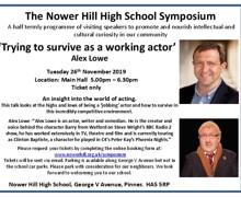 Symposium 26th november