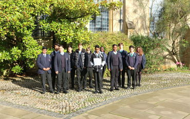 Visit to St John's College, University of Oxford