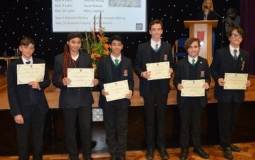 Y7-10 Achievement Awards