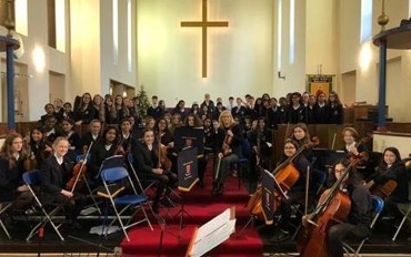 Cluster Carol Concert