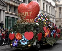 Harrow float