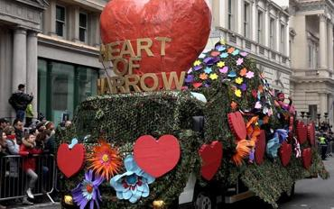 Harrow wins in London's New Year's Day Parade