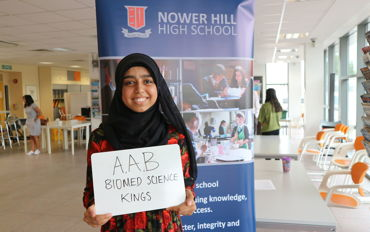 Nower HIll A Level Results 2020