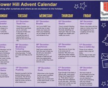 Nower hill advent calendar