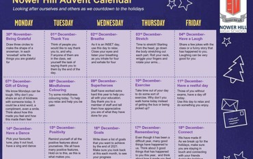 The Nower Hill Advent Calender