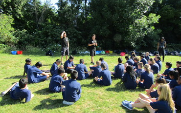 Year 7 Science Bushcraft Day
