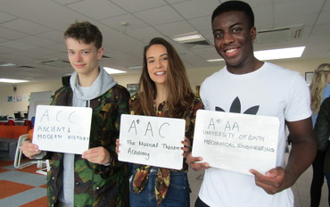 Record Breaking A-level Success 2018