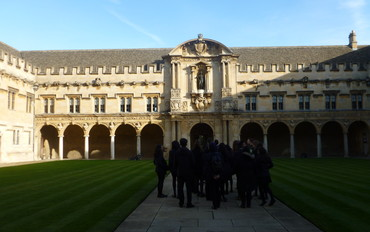 Exploration Day at St John's College, Oxford