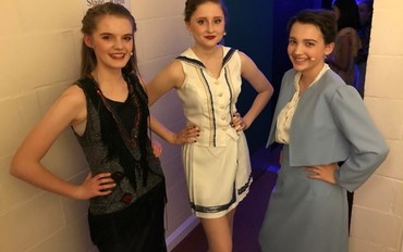 Nower Hill Students perform in John Lyon School's production of Anything Goes