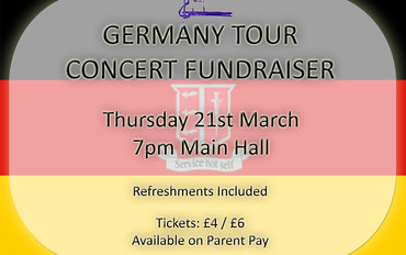 German Concert Tour – Fundraising Concert