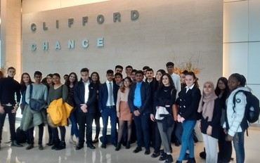 Year 12 Visit to Clifford Chance