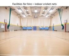 Indoor cricket nets 1